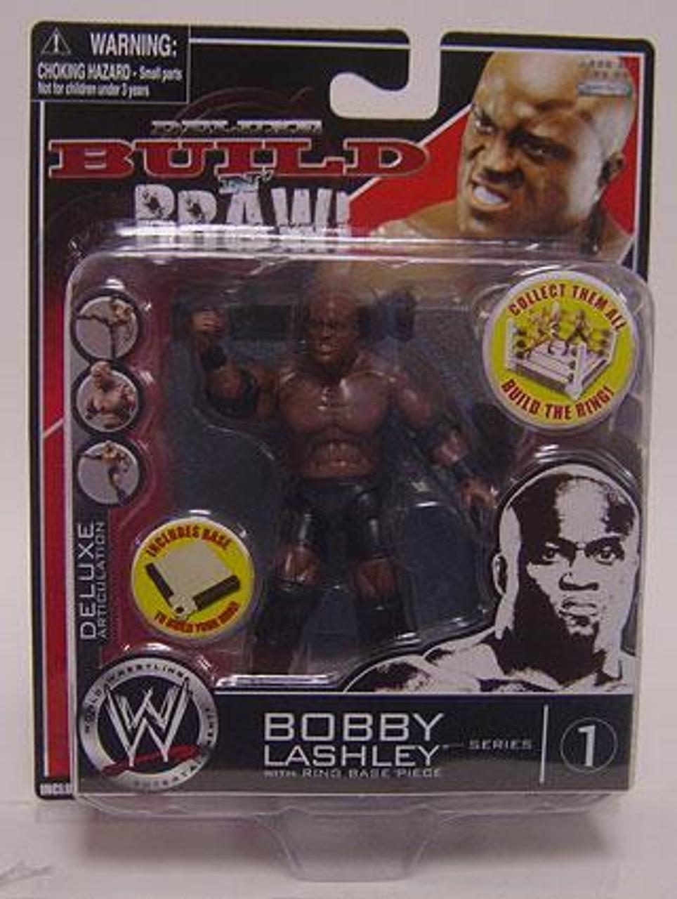 WWE Wrestling Build N' Brawl Series 1 Bobby Lashley Action Figure