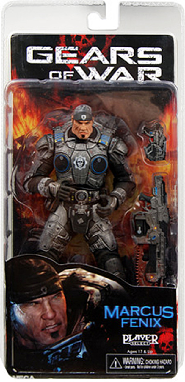NECA Gears of War Marcus Fenix Action Figure