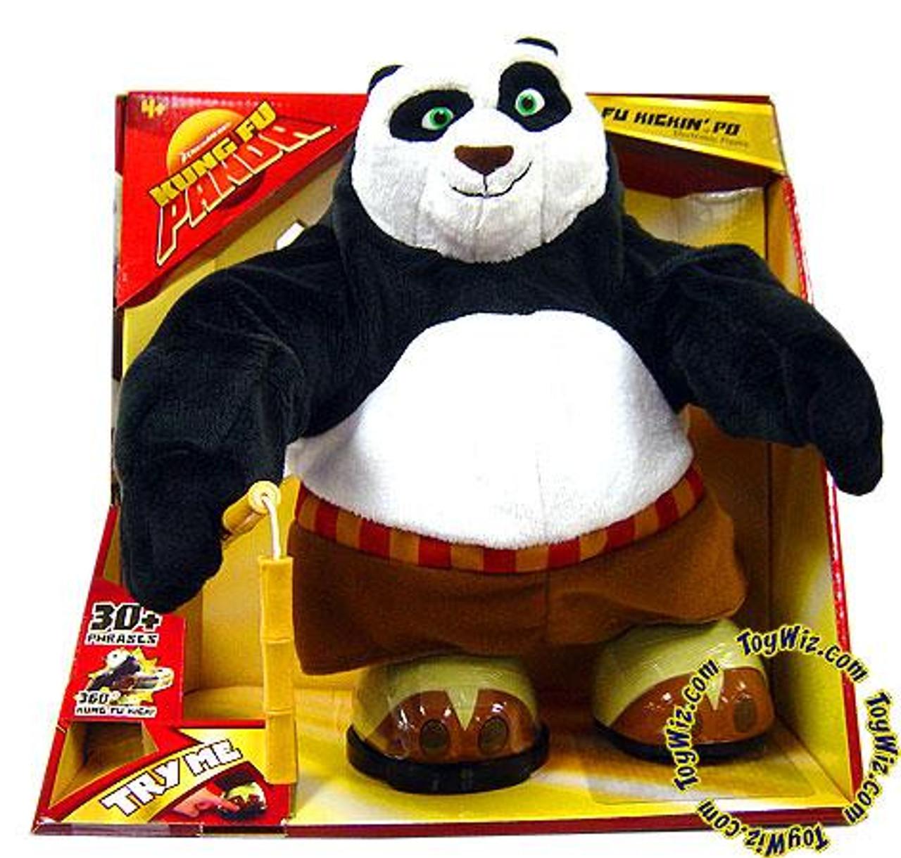 Kung Fu Panda Electronic Po Action Figure [Kickin']