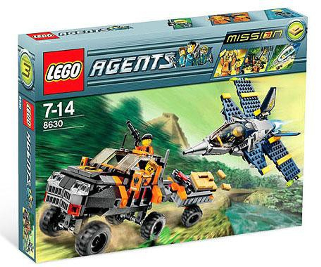 LEGO Agents Mission 3: Gold Hunt Set #8630