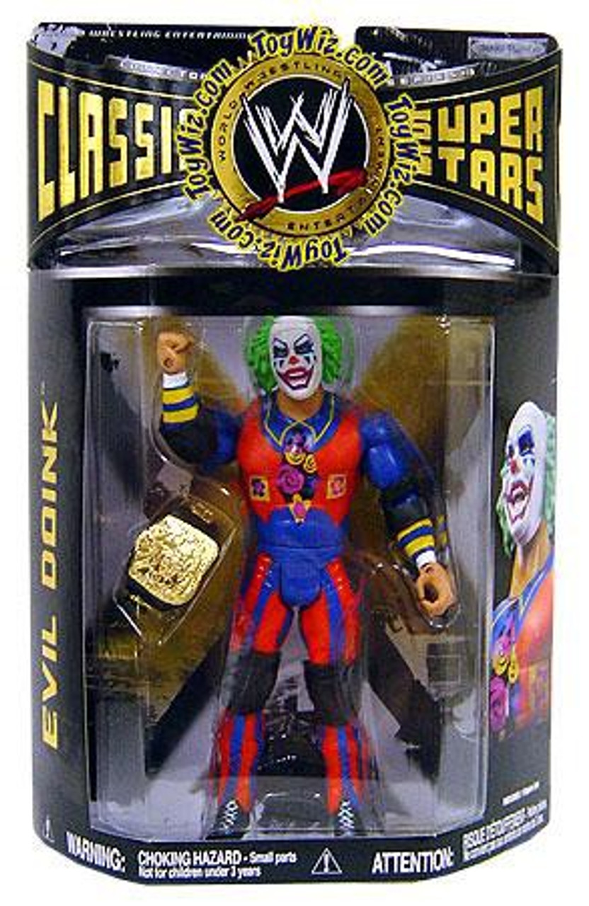 WWE Wrestling Classic Superstars Series 19 Evil Doink Action Figure
