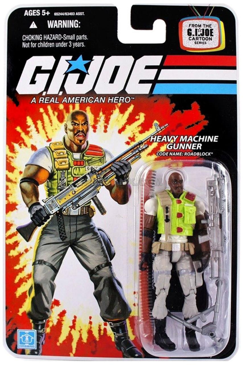 GI Joe Wave 8 Roadblock Action Figure