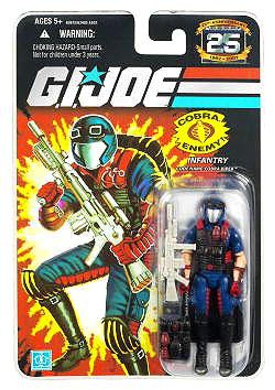 GI Joe 25th Anniversary Wave 7 Cobra Viper Action Figure