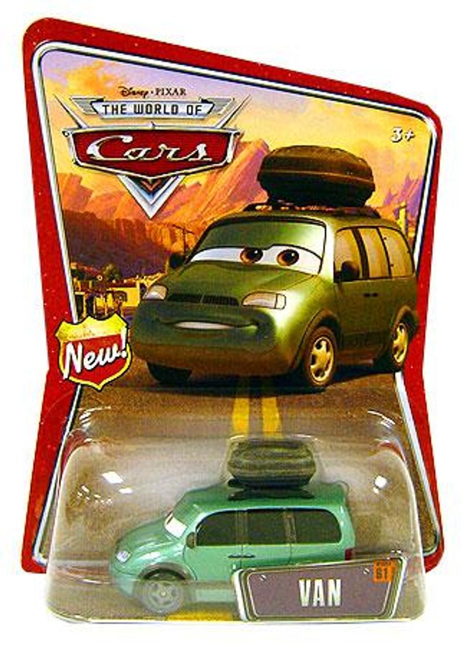 Disney Cars The World of Cars Van Diecast Car