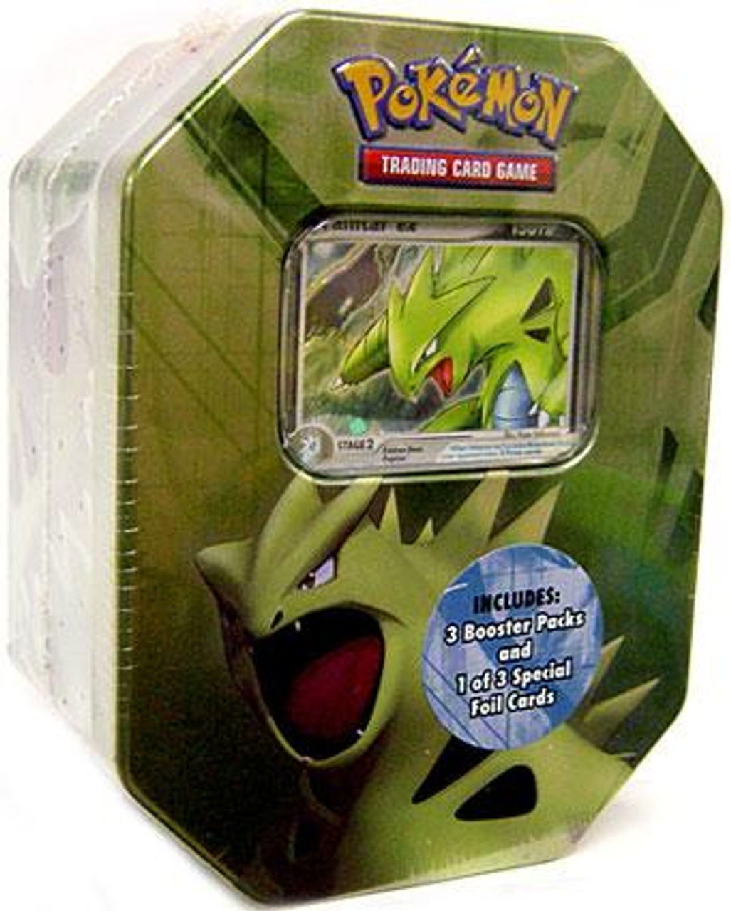 Pokemon EX 2007 Series 2 Tyranitar Collector Tin