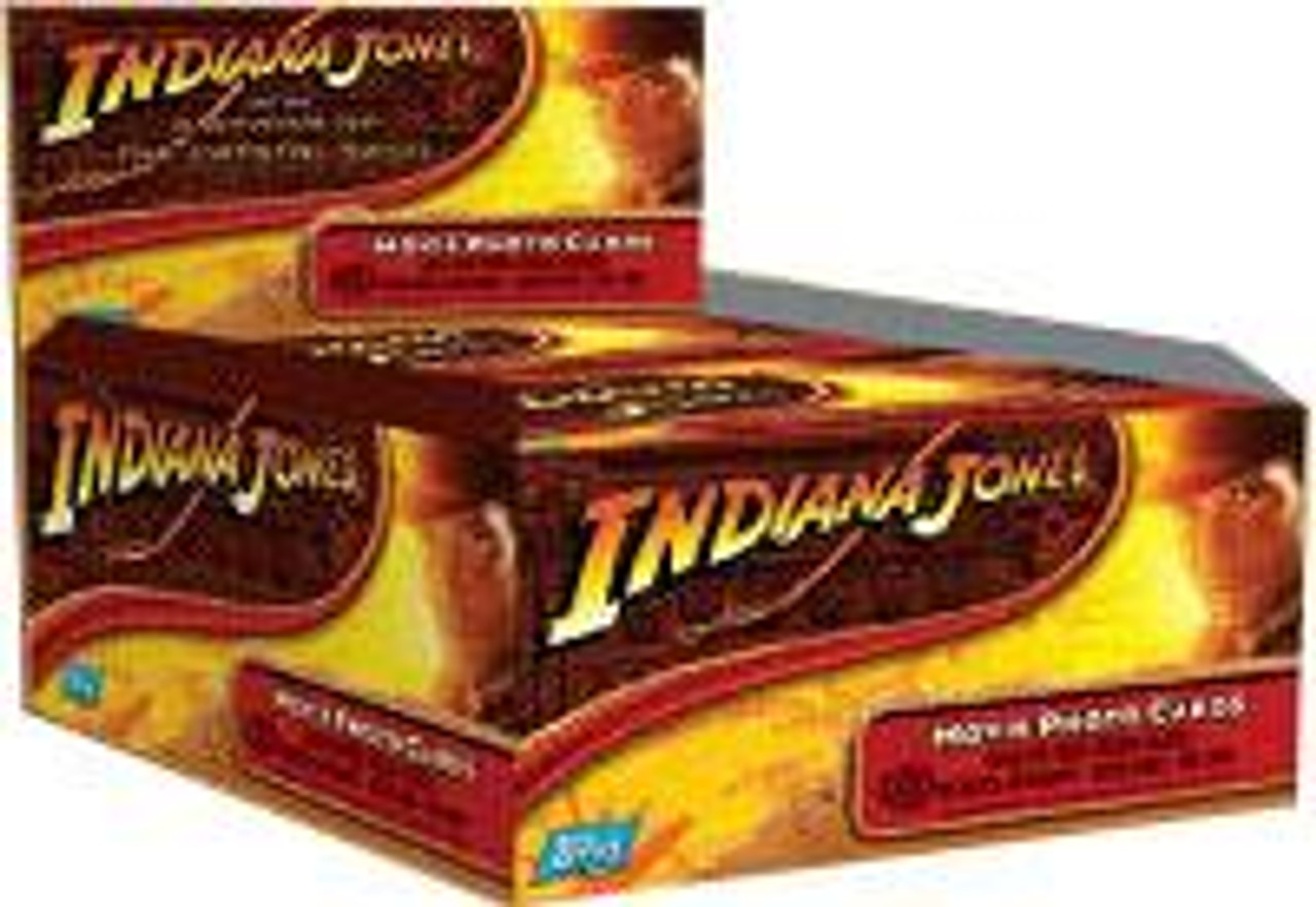Indiana Jones Kingdom of the Crystal Skull Trading Card HOBBY Box [24 Packs]