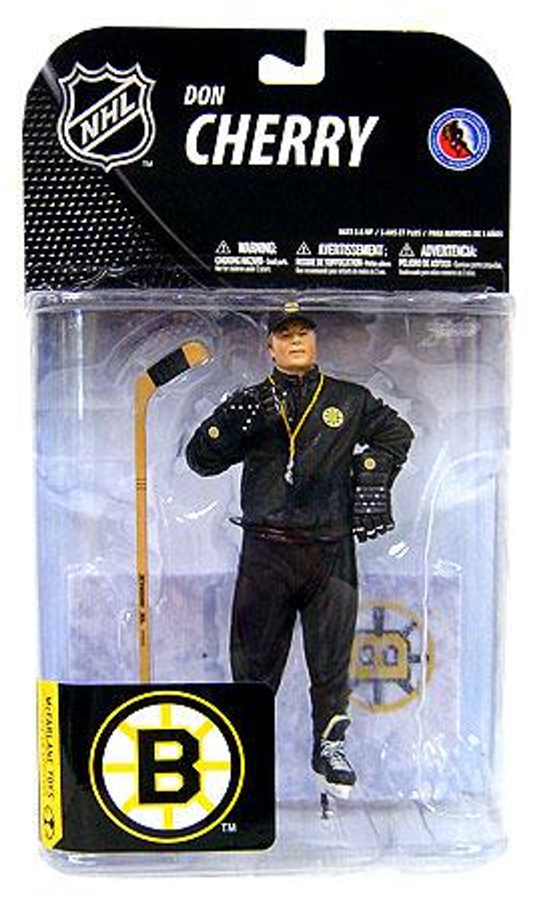McFarlane Toys NHL Boston Bruins Sports Picks Series 19 Don Cherry Action Figure