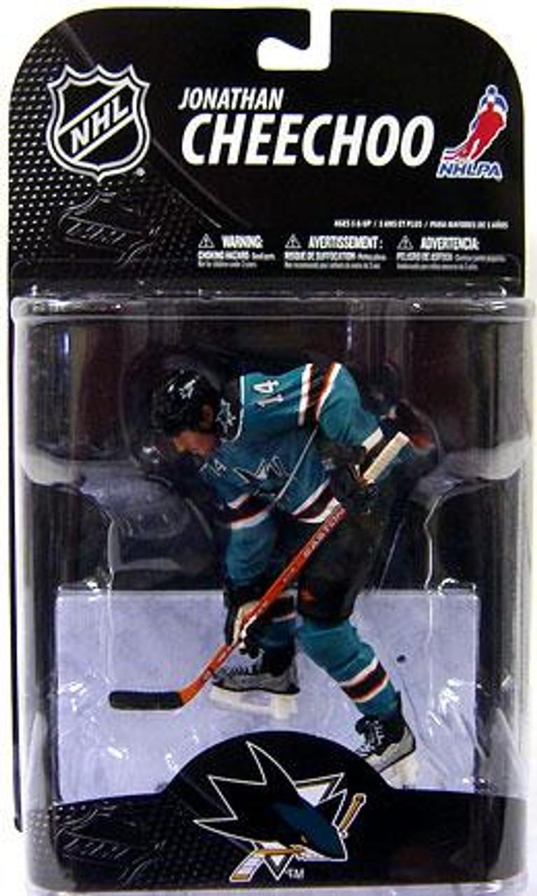 McFarlane Toys NHL San Jose Sharks Sports Picks Series 20 Jonathan Cheechoo Action Figure