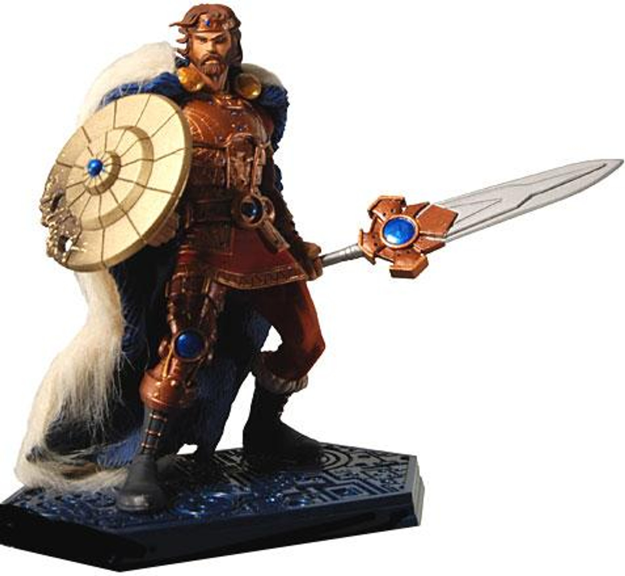 NECA Masters of the Universe King Randor Statue [Classic Colors]