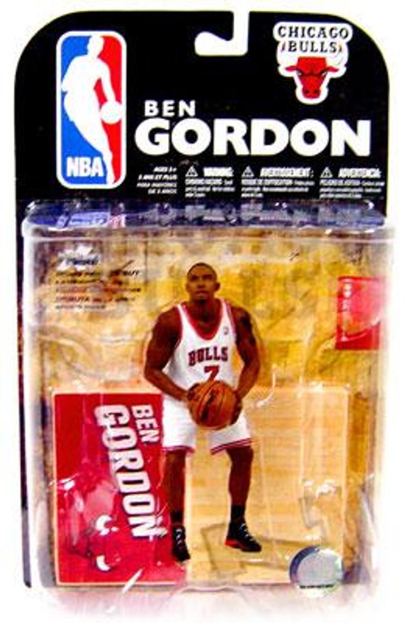 McFarlane Toys NBA Chicago Bulls Sports Picks Series 15 Ben Gordon Action Figure [White Jersey]