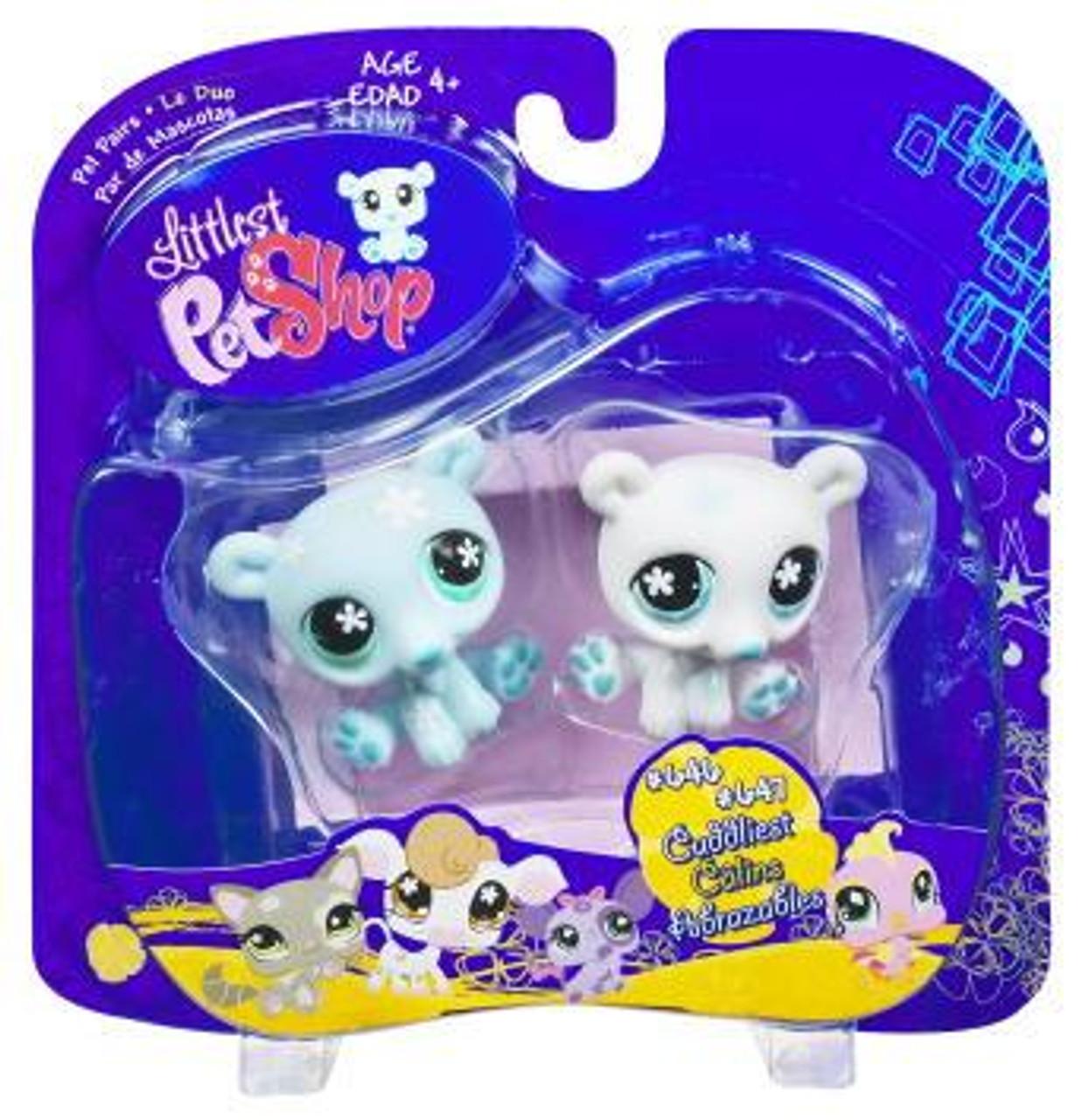 Littlest Pet Shop Pet Pairs Twin Polar Bears 2-Pack