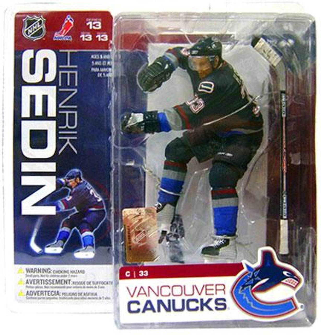 McFarlane Toys NHL Vancouver Canucks Sports Picks Series 13 Henrik Sedin Action Figure