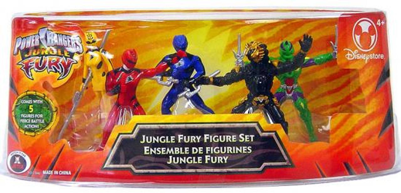 Power Rangers Jungle Fury Figure Set Exclusive