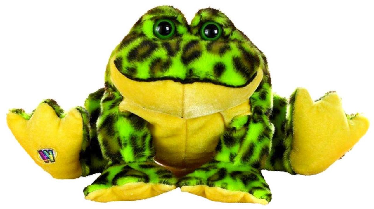 Webkinz Lil' Kinz Bull Frog Plush