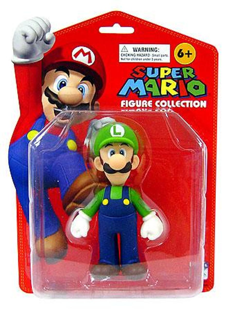 Super Mario Luigi 5-Inch PVC Figure