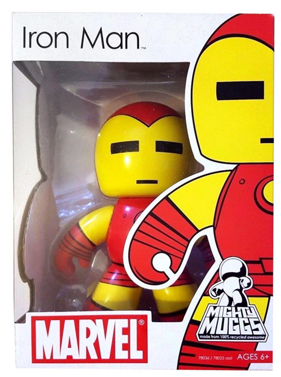 Marvel Mighty Muggs Series 1 Iron Man Vinyl Figure