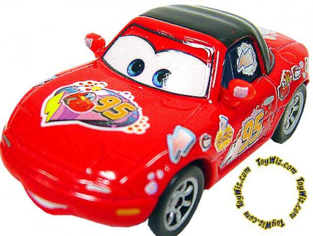 Disney Cars Loose Red Tia Diecast Car [Loose]