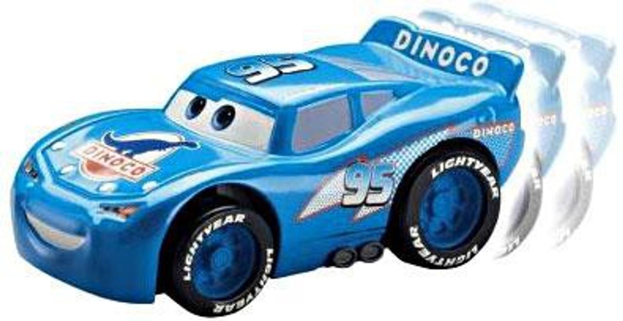 Disney Cars The World of Cars Shake 'N Go Dinoco Lightning McQueen Shake 'N Go Car