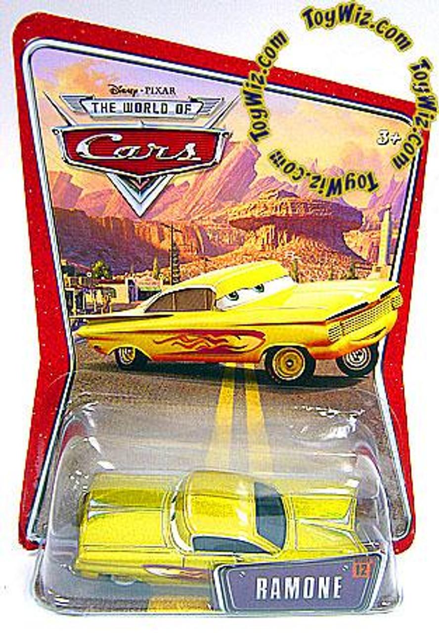 Disney Cars The World of Cars Ramone Diecast Car [Gold]