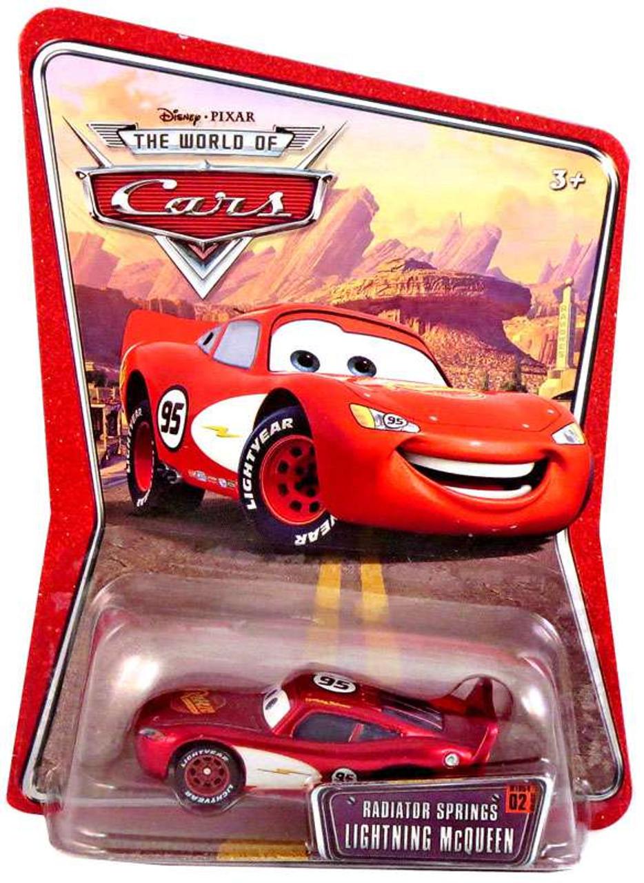 Disney Cars The World of Cars Series 1 Radiator Springs Lightning McQueen Diecast Car
