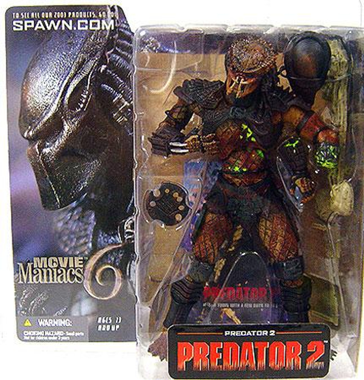 McFarlane Toys Movie Maniacs Series 6 Predator 2 Action Figure