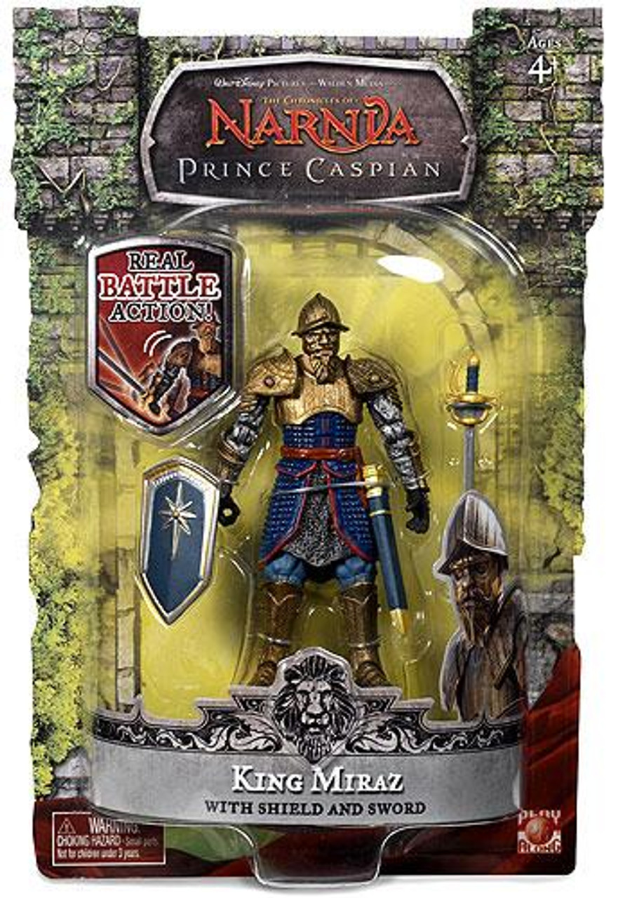 The Chronicles of Narnia Prince Caspian Final Battle King Miraz Action Figure