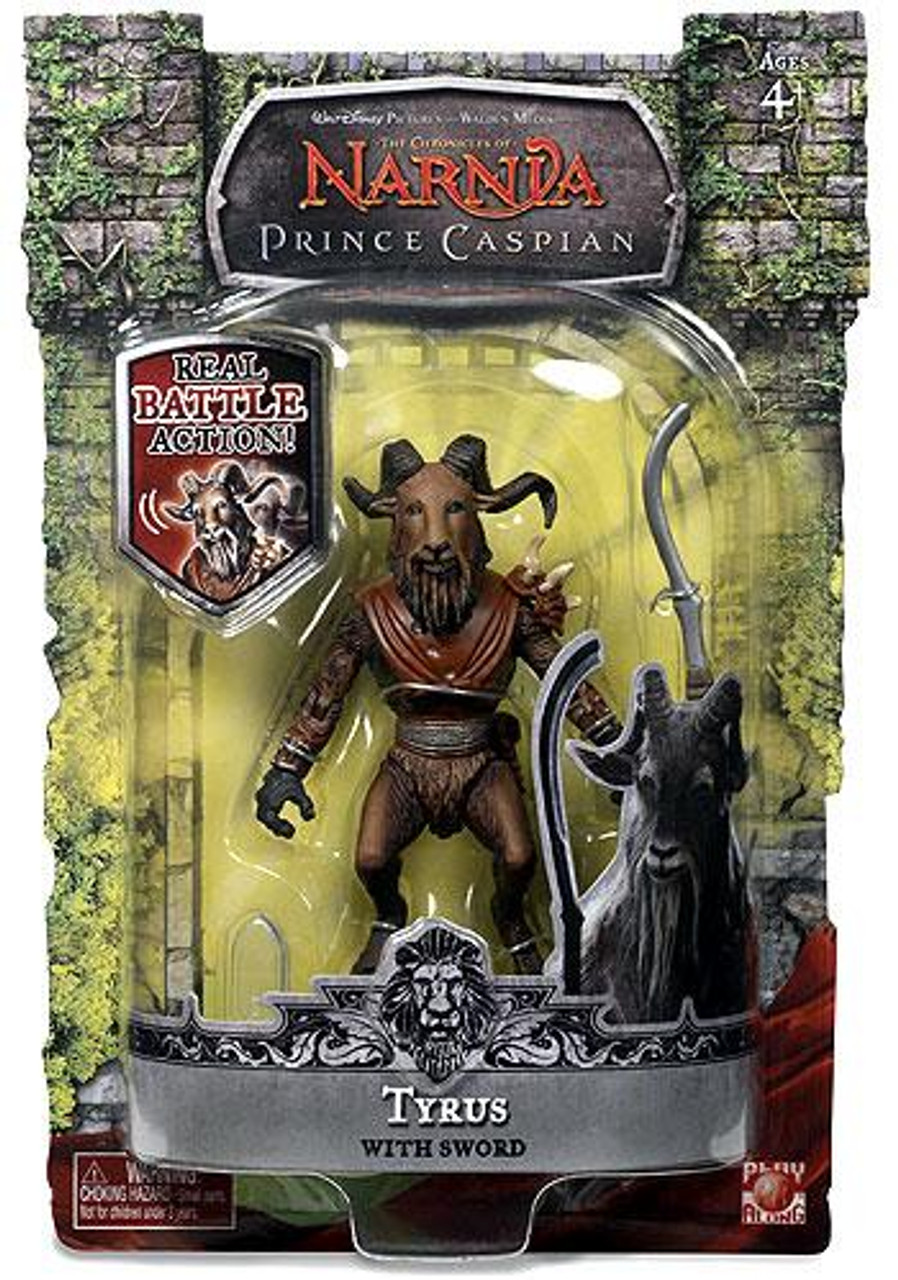 The Chronicles of Narnia Prince Caspian Tyrus Action Figure