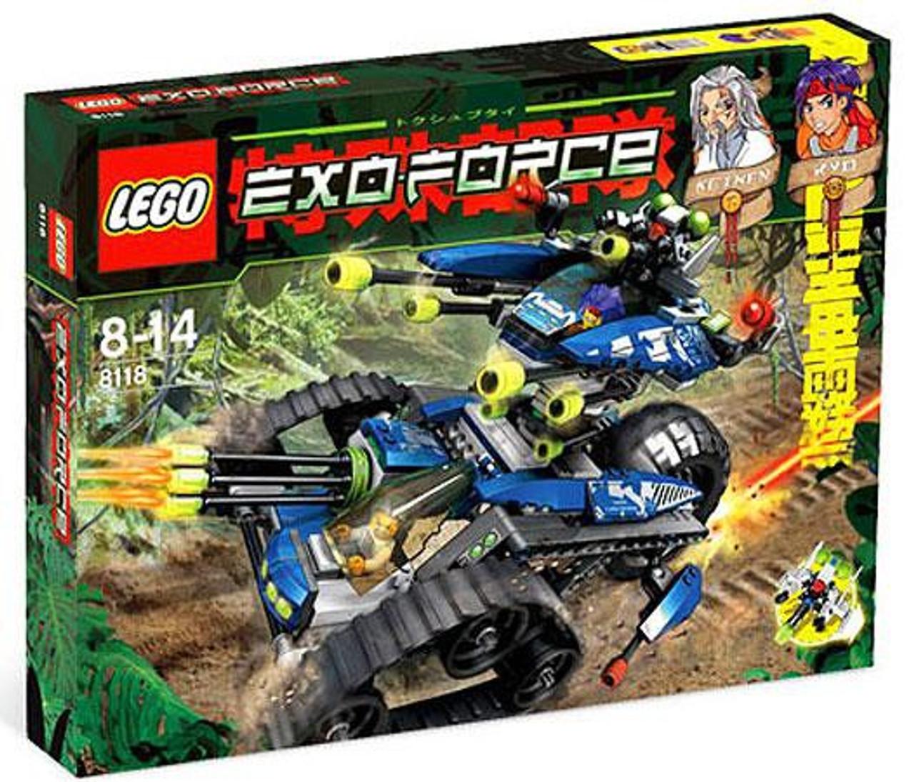 LEGO Exo Force Hybrid Rescue Tank Set #8118