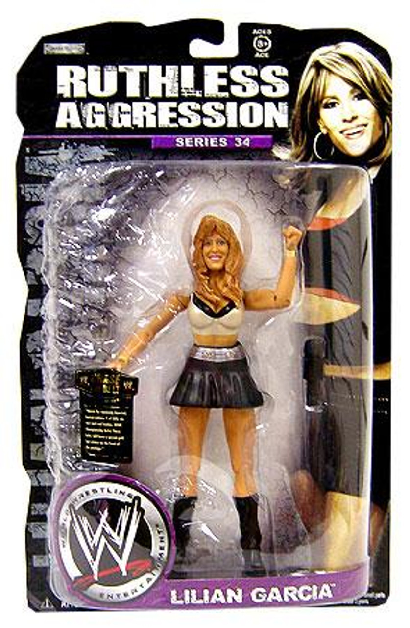 WWE Wrestling Ruthless Aggression Series 34 Lilian Garcia Action Figure