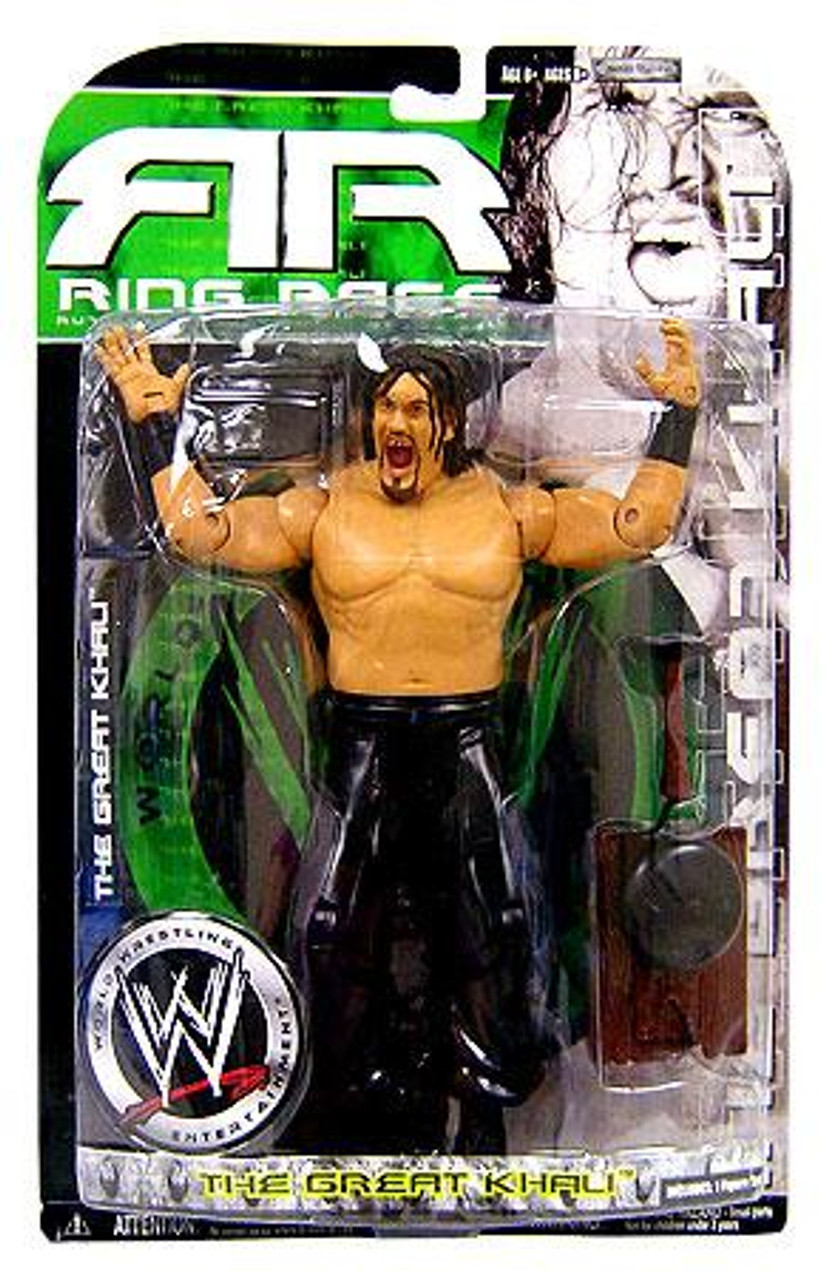 WWE Wrestling Ruthless Aggression Series 34.5 Ring Rage Great Khali Action Figure