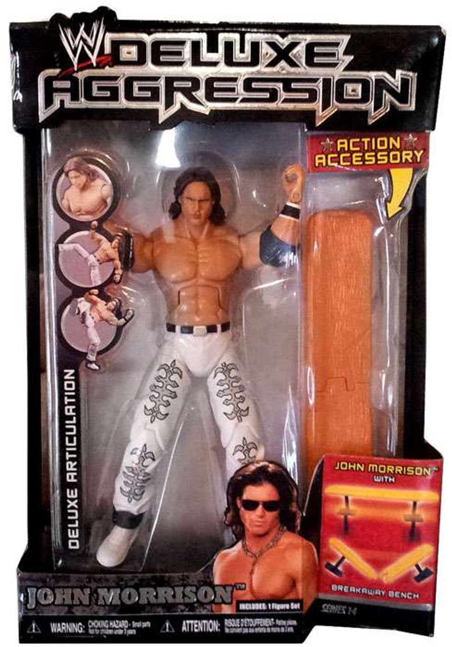 WWE Wrestling Deluxe Aggression Series 14 John Morrison Action Figure