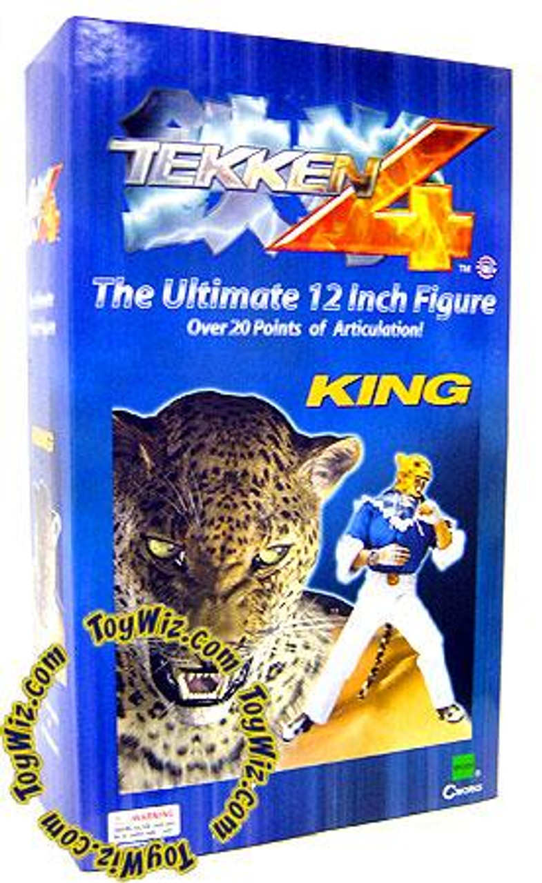 Tekken 4 King 12-Inch Collectible Figure
