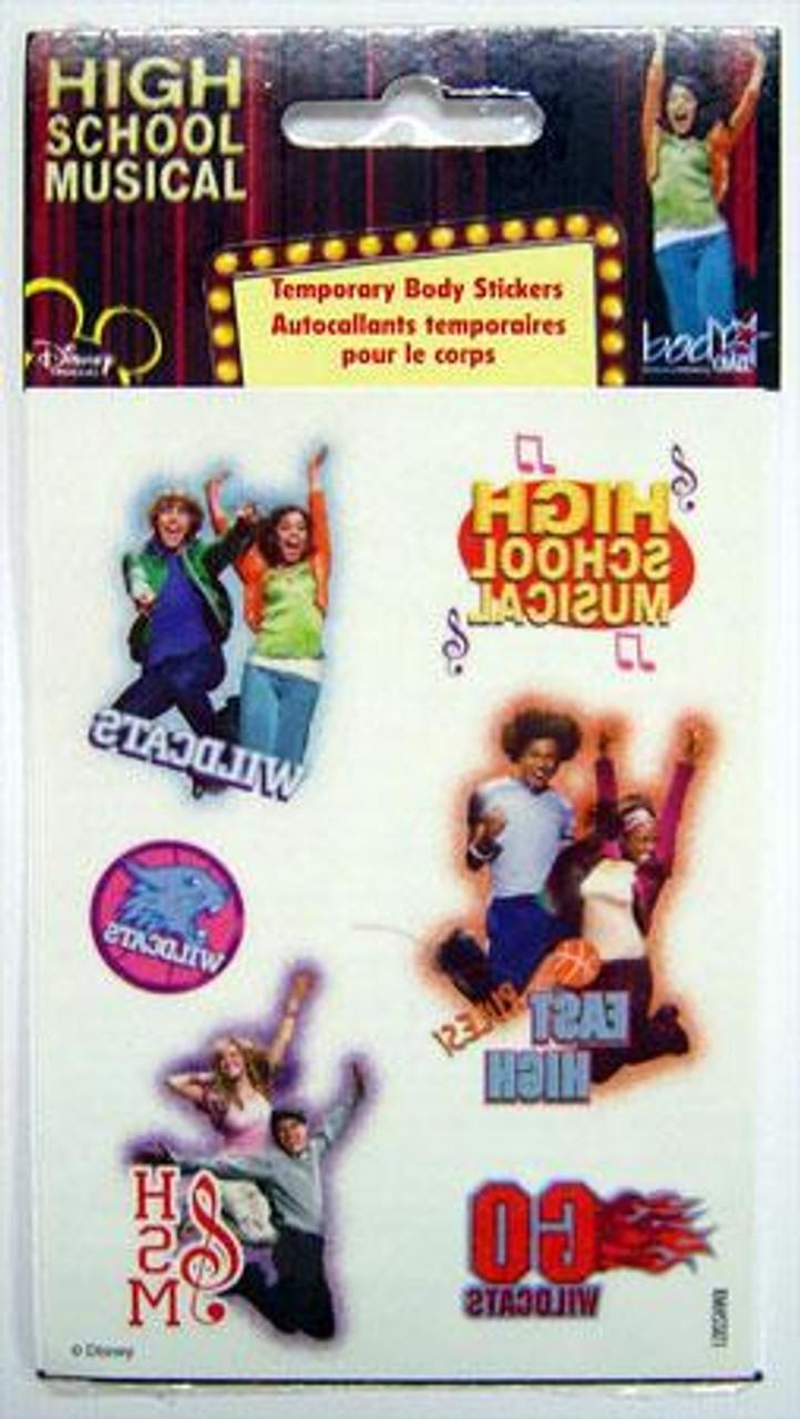 Disney High School Musical Temporary Body Stickers