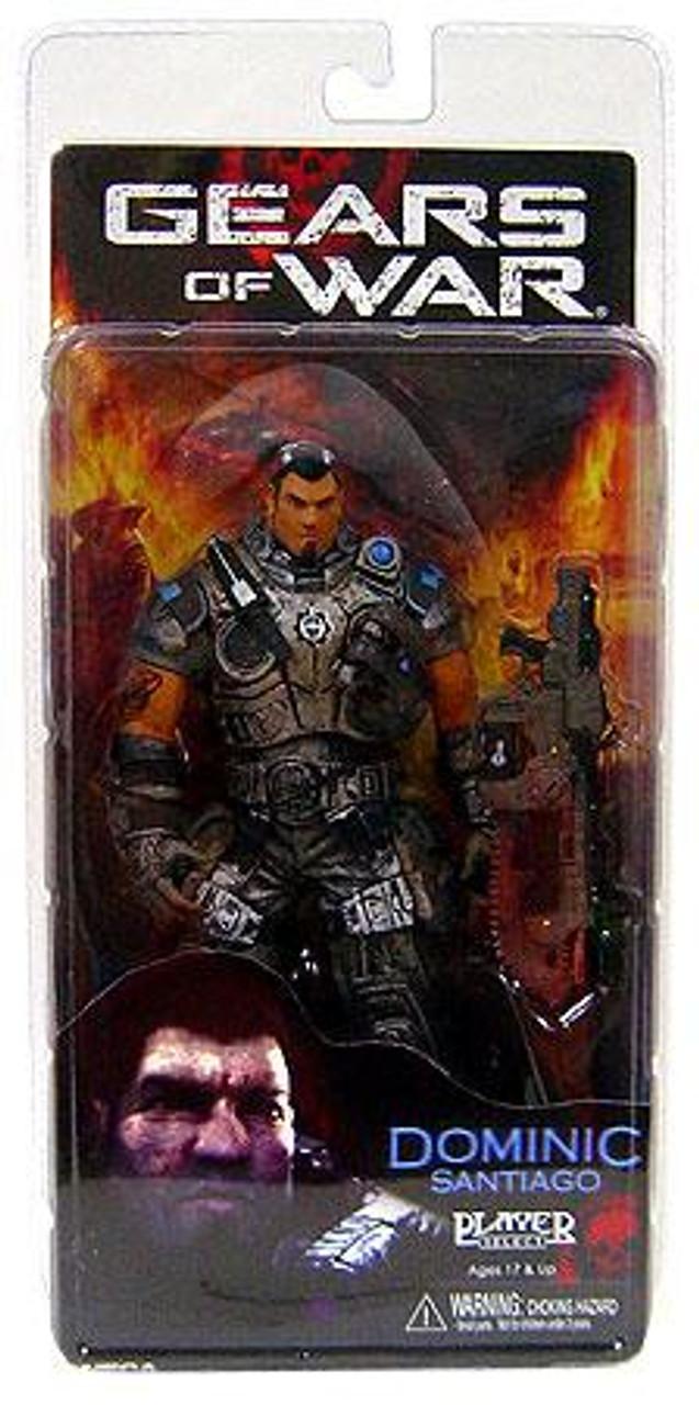 NECA Gears of War Series 2 Dominic Santiago Action Figure
