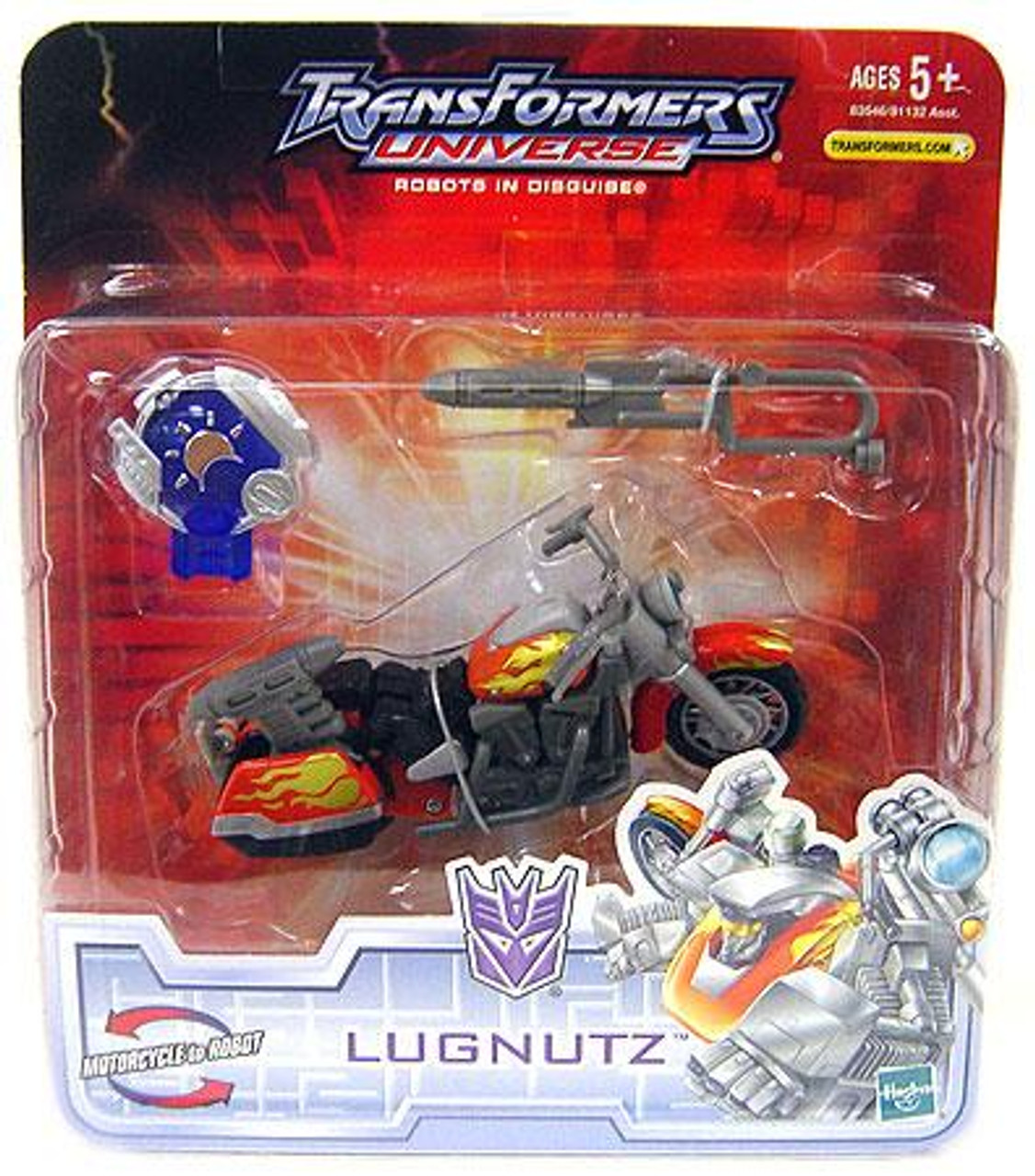 Transformers Universe Robots in Disguise Lugnutz Action Figure