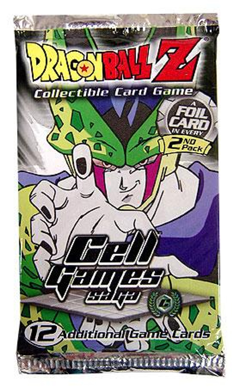 Dragon Ball Z Collectible Card Game Cell Games Saga Booster Pack