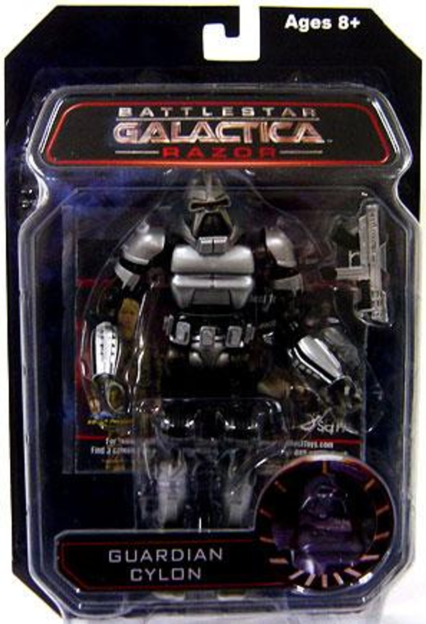 Battlestar Galactica Series 3 Razor Guardian Cylon Action Figure [Retro Style]
