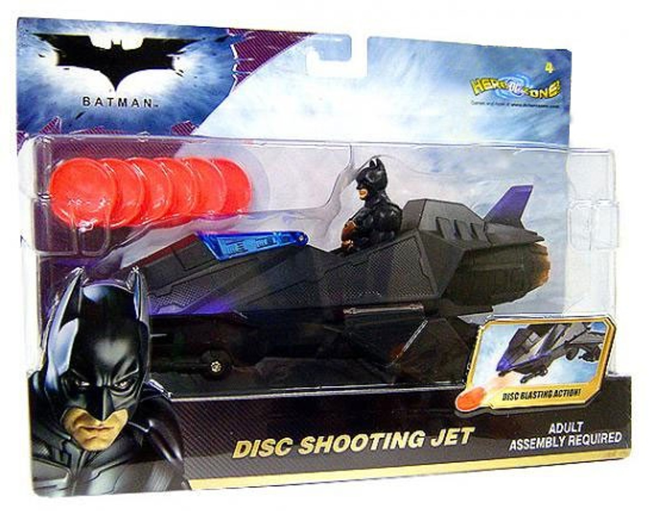 Batman The Dark Knight Disc Shooting Jet Vehicle