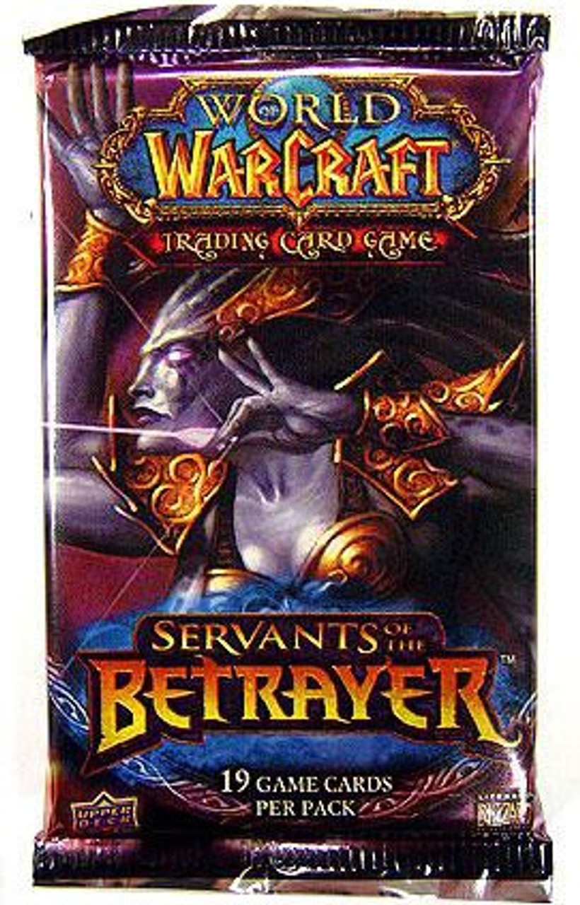 World of Warcraft Trading Card Game Servants of the Betrayer Booster Pack