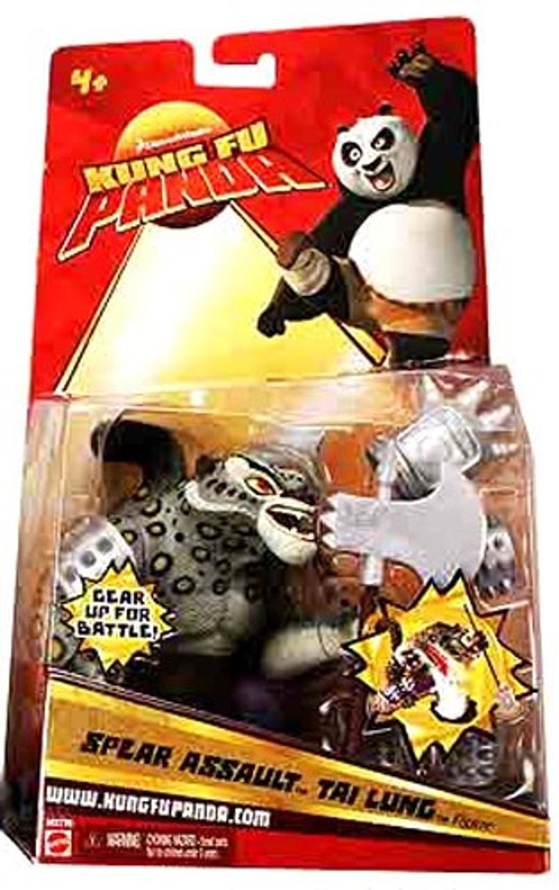 Kung Fu Panda Tai Lung Action Figure [Spear Assault]