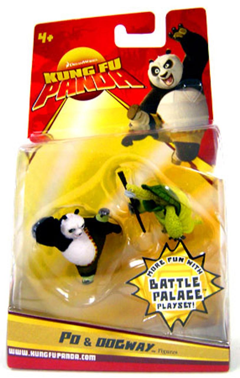 Kung Fu Panda Po & Oogway Mini Figure 2-Pack