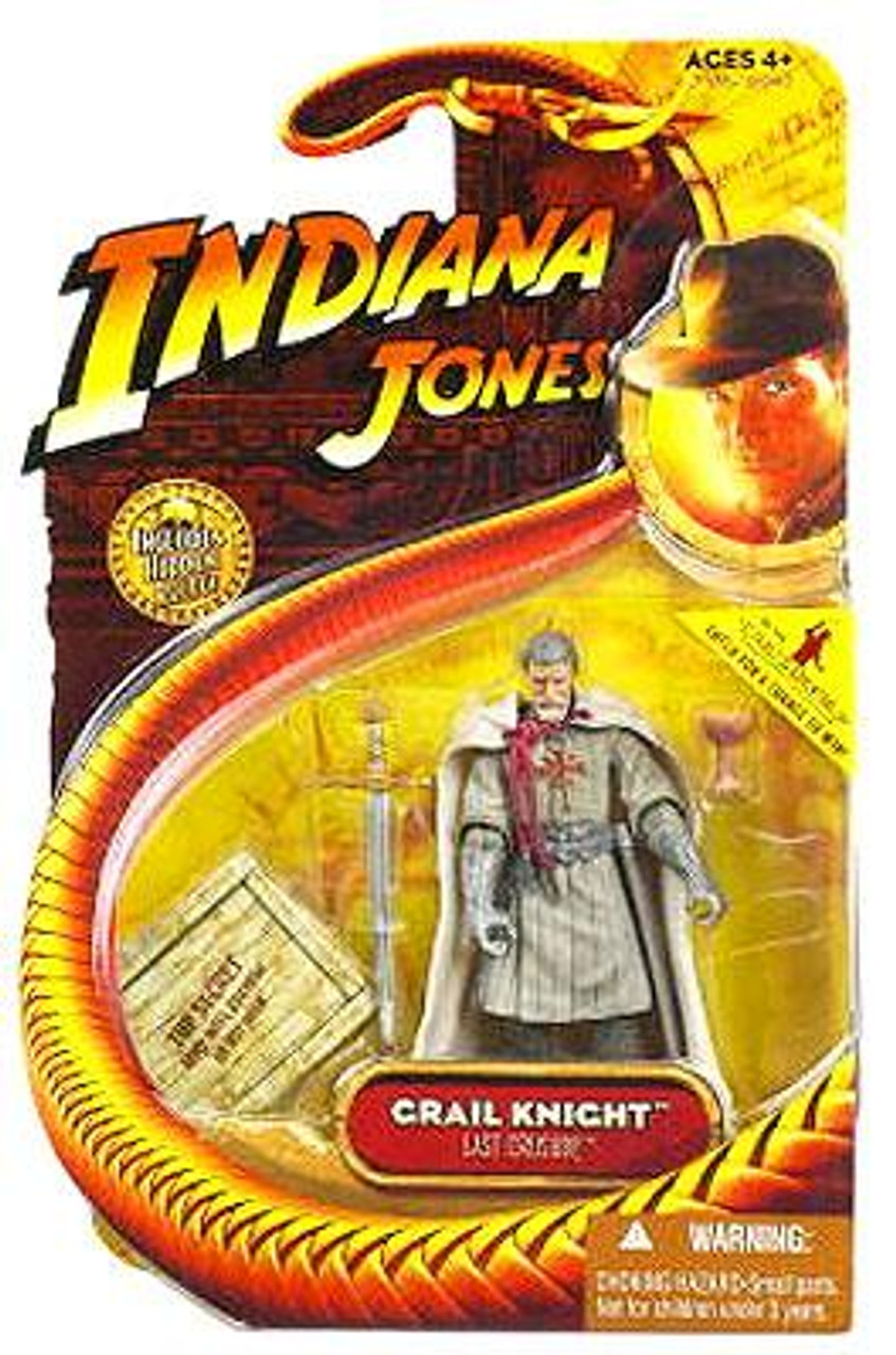Indiana Jones The Last Crusade Series 3 Grail Knight Action Figure