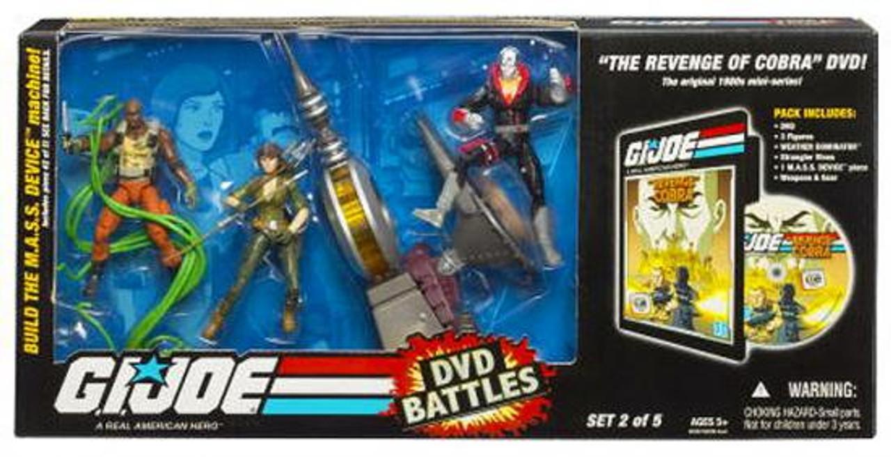 GI Joe DVD Battles Revenge of Cobra Action Figure Set #2
