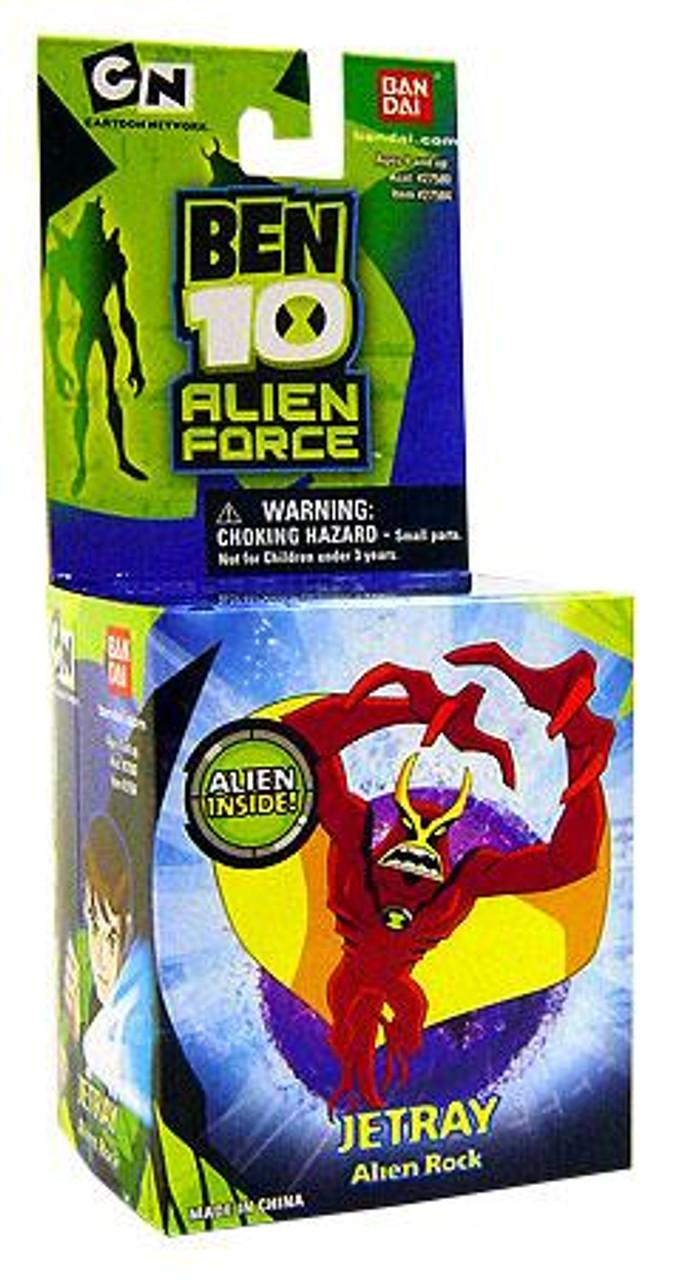 Ben 10 Alien Force Alien Rock Jetray 1-Inch Mini Figure