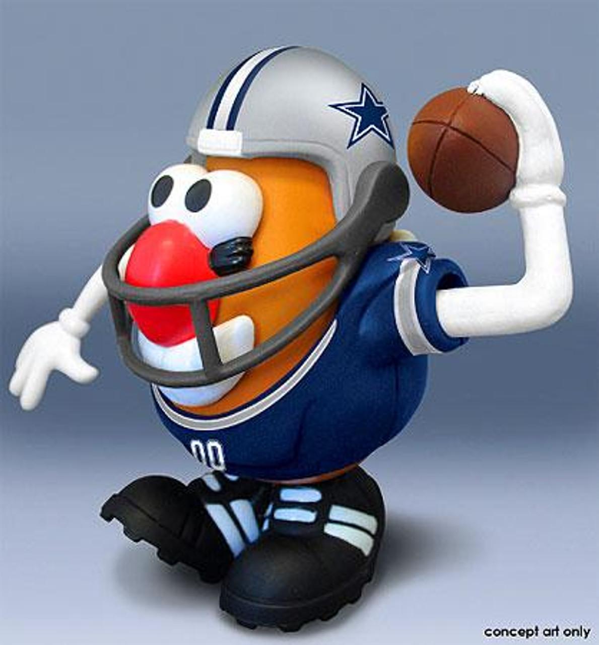 NFL Sports Spuds Dallas Cowboys Mr. Potato Head