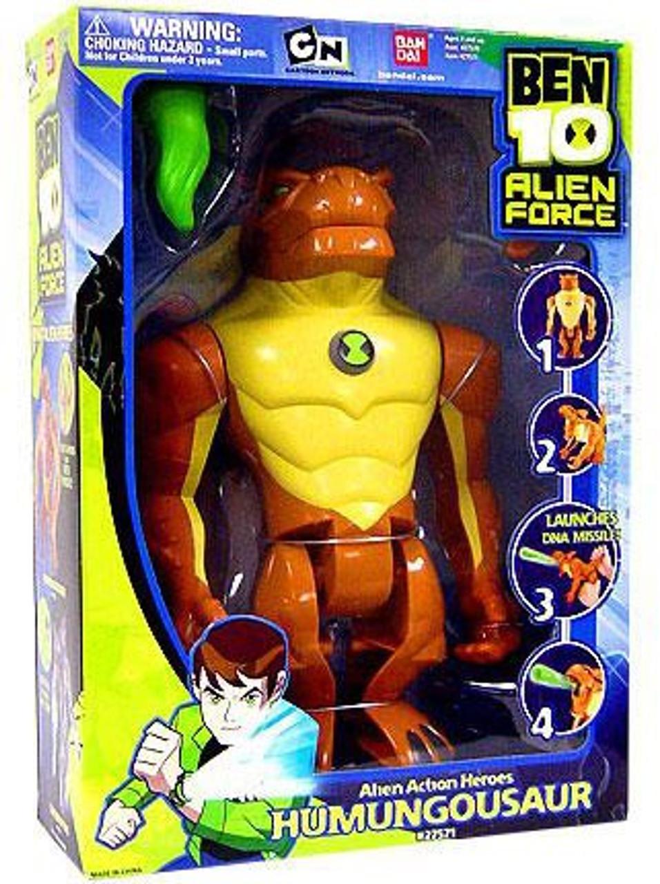 Ben 10 Alien Force Alien Action Heroes Humungousaur Action Figure