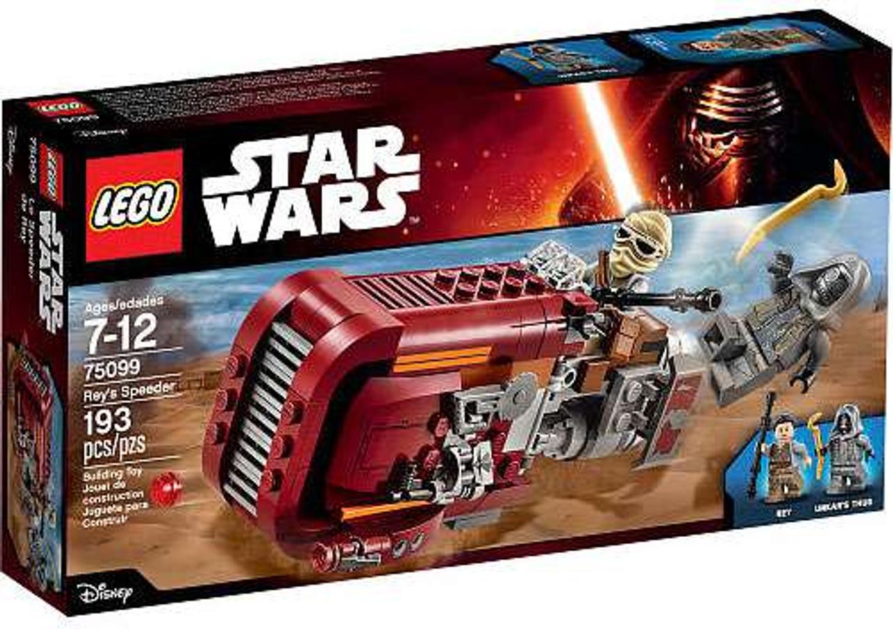 LEGO Star Wars The Force Awakens Rey's Speeder Set #75099