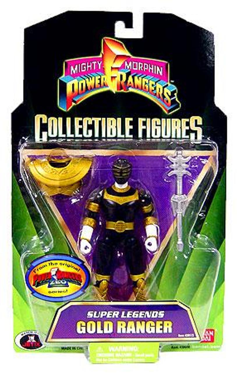 Power Rangers Mighty Morphin Collectible Figures Super Legends Gold Ranger Action Figure