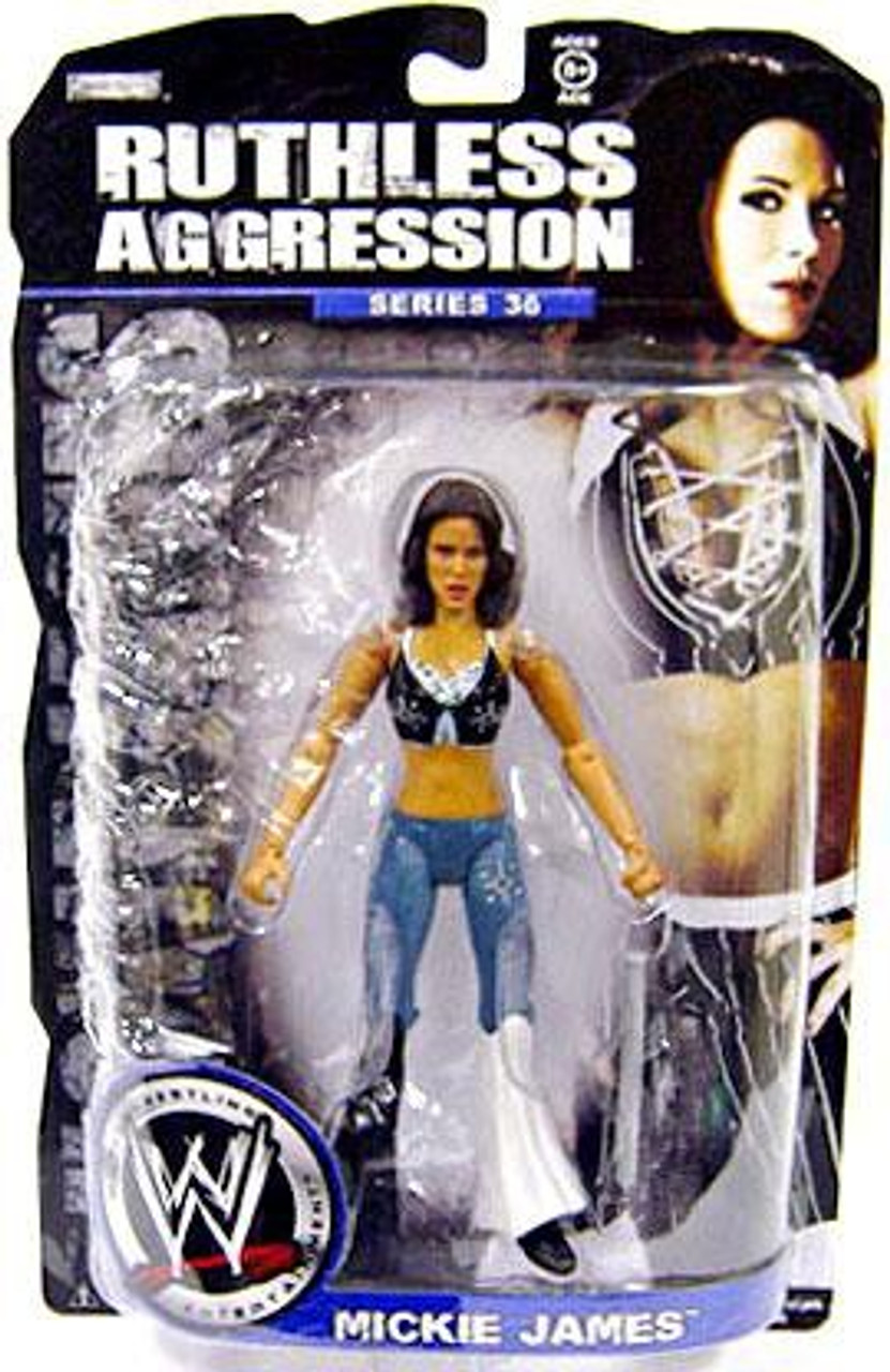 WWE Wrestling Ruthless Aggression Series 36 Mickie James Action Figure