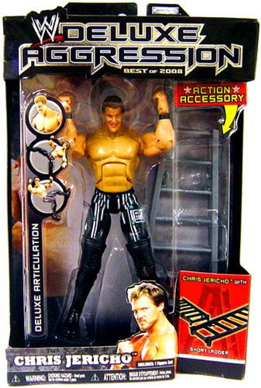 WWE Wrestling Deluxe Aggression Best of 2008 Chris Jericho Action Figure